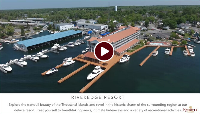 Video of Riveredge Resort, Alexandra Bay NY